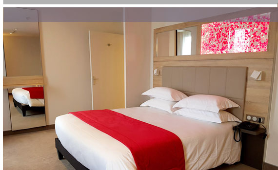 Nos chambres et suites, hotel Vichy 3 étoiles